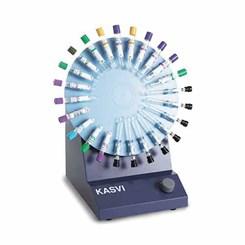 Agitador Para Tubos Hemograma Disco para 24 Tubos Velocidade 6 a 32rpm Kasvi