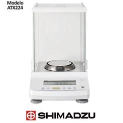 Balança Analítica 220gr  0,1mg (0,0001g) Unibloc  Com Calibração Interna Automática PSC  ATX224 Shimadzu