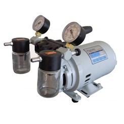 Bomba a Vácuo e Compressor  Isenta de Óleo – Vácuo Final 620 mmhg