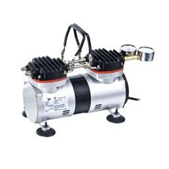 Bomba de Vácuo e Compressor  Isento de Óleo  Vácuo Final 650 mmhg