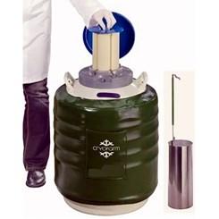 Botijão Criogênico 35,5 Litros YDS-35 Cryofarm