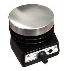 Chapa Aquecedora 10cm de Diâmetro Em Alumínio Temperatura 50 a 320ºC Fisatom