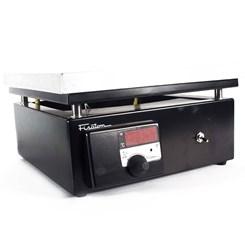 Chapa Aquecedora 31 x 31cm Digital Em Alumínio Temperatura 50 a 350ºC Fisatom