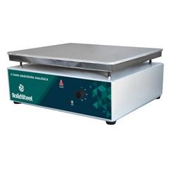 Chapa Aquecedora Analógica Em Alumínio 50ºC a 300ºC