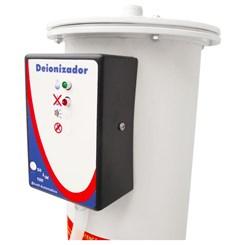 Deionizador De Água Em PVC Com Alarme Óptico 50 litros