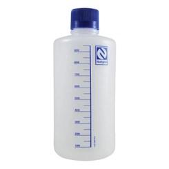 Frasco Reagente de Plástico Polietileno Graduado Boca Estreita