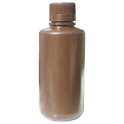 Frasco Reagente de Plástico Polipropileno Autoclavável Boca Estreita Âmbar