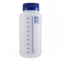 Frasco Reagente de Plástico Polipropileno Autoclavável Graduado Boca Larga
