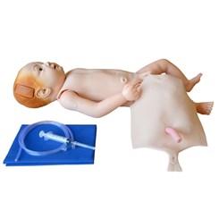 Manequim Bebê, Bissexual com Órgãos Internos Simulador para Treino de Enfermagem