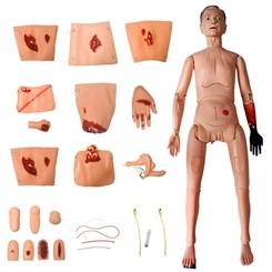 Manequim Bissexual com Órgãos Internos Simulador para Cuidados de Enfermagem e Trauma