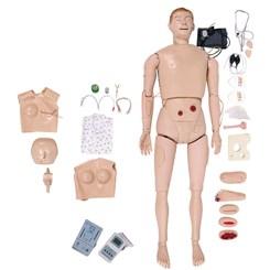Manequim Bissexual Simulador para Treino de Enfermagem e RCP