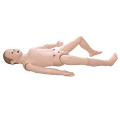 Manequim Infantil, Bissexual, Simulador para Treino de Suporte Avançado ACLS