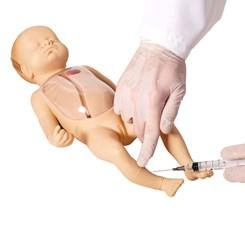 Manequim Neonatal Avançado para Punção Venosa Central e Periférica