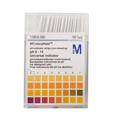 Papel Indicador de Ph 0 a 14 Merck
