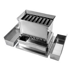 Quarteador de Amostras em Aço Inox 16 Planos
