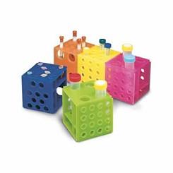 Rack 4 Faces Cubo Para Tubos de 2,0ml 10ml 15ml e 50 ml