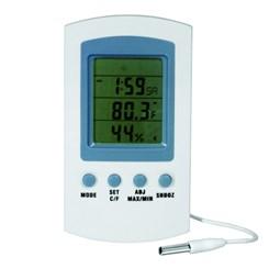 Termo-higrômetro Digital Temperatura Interna e Externa-50 + 70ºC
