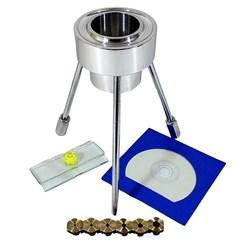 Viscosímetro Copo Ford de Aço Inox Kit Completo